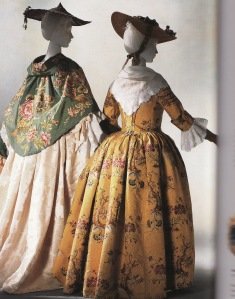 robe à l' anglaise